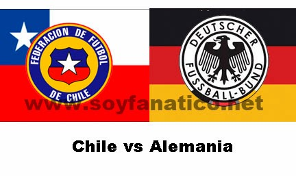 Chile vs Alemania 2014
