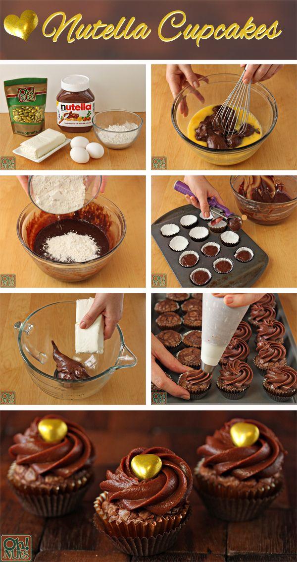 →Cupcakes de Nutella←