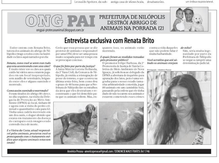 Entrevista com Renata Brito