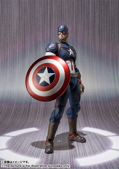 action figure captain america