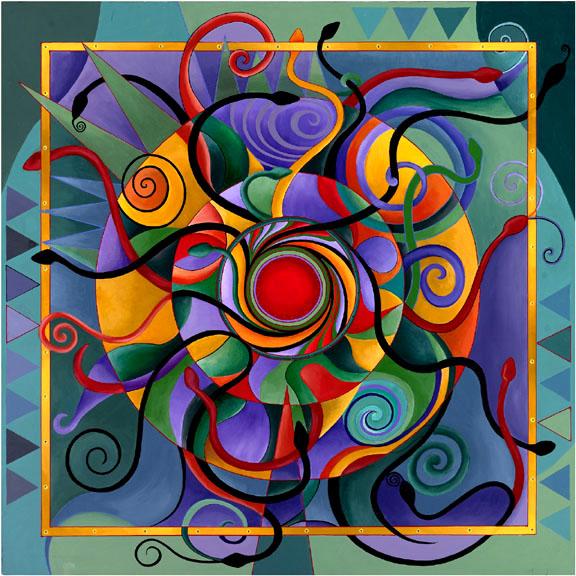 La Meditación....  Mandala-chachi