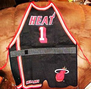 Miami Heat NBA Adjustable Apron