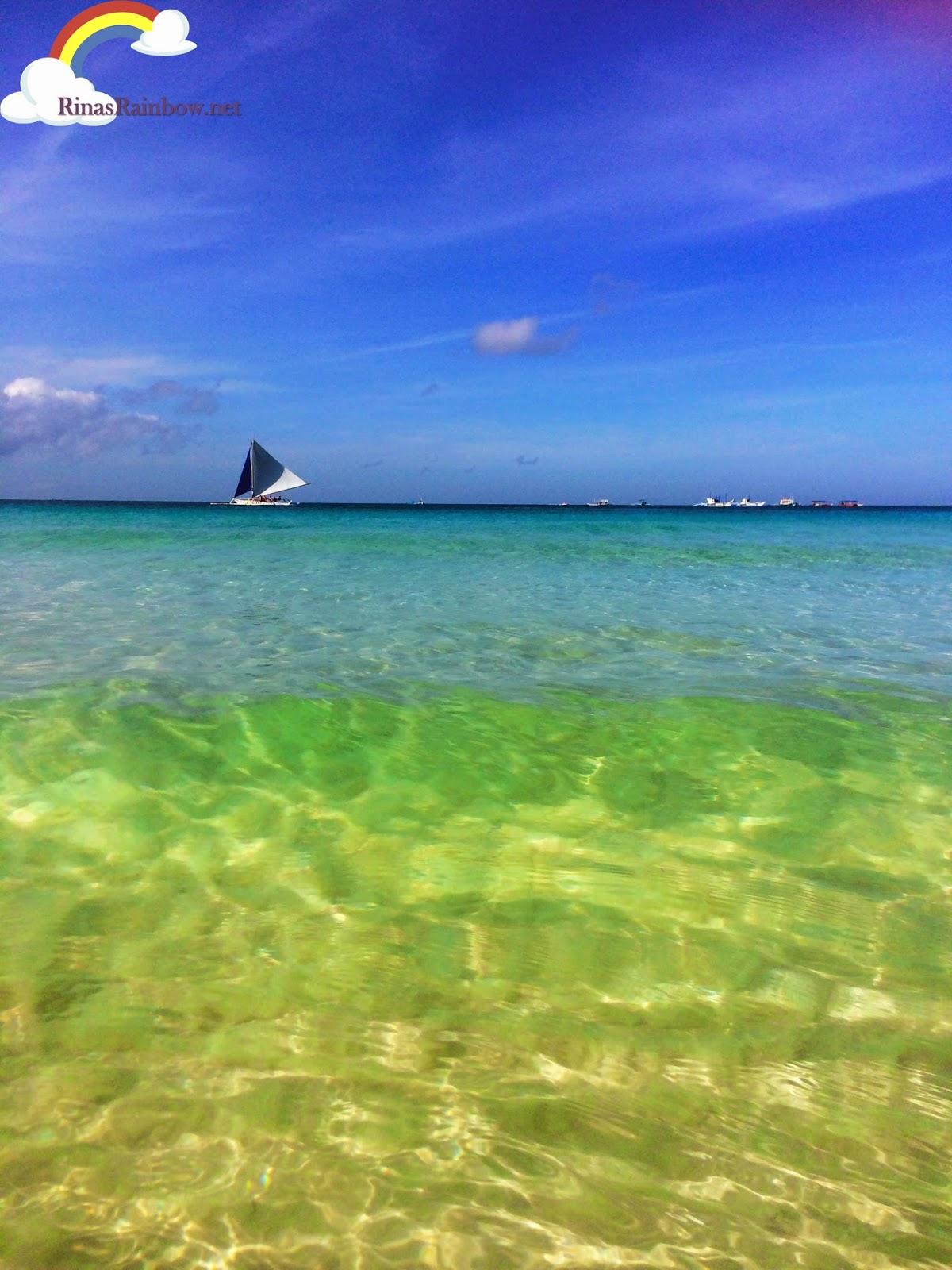 clear waters boracay