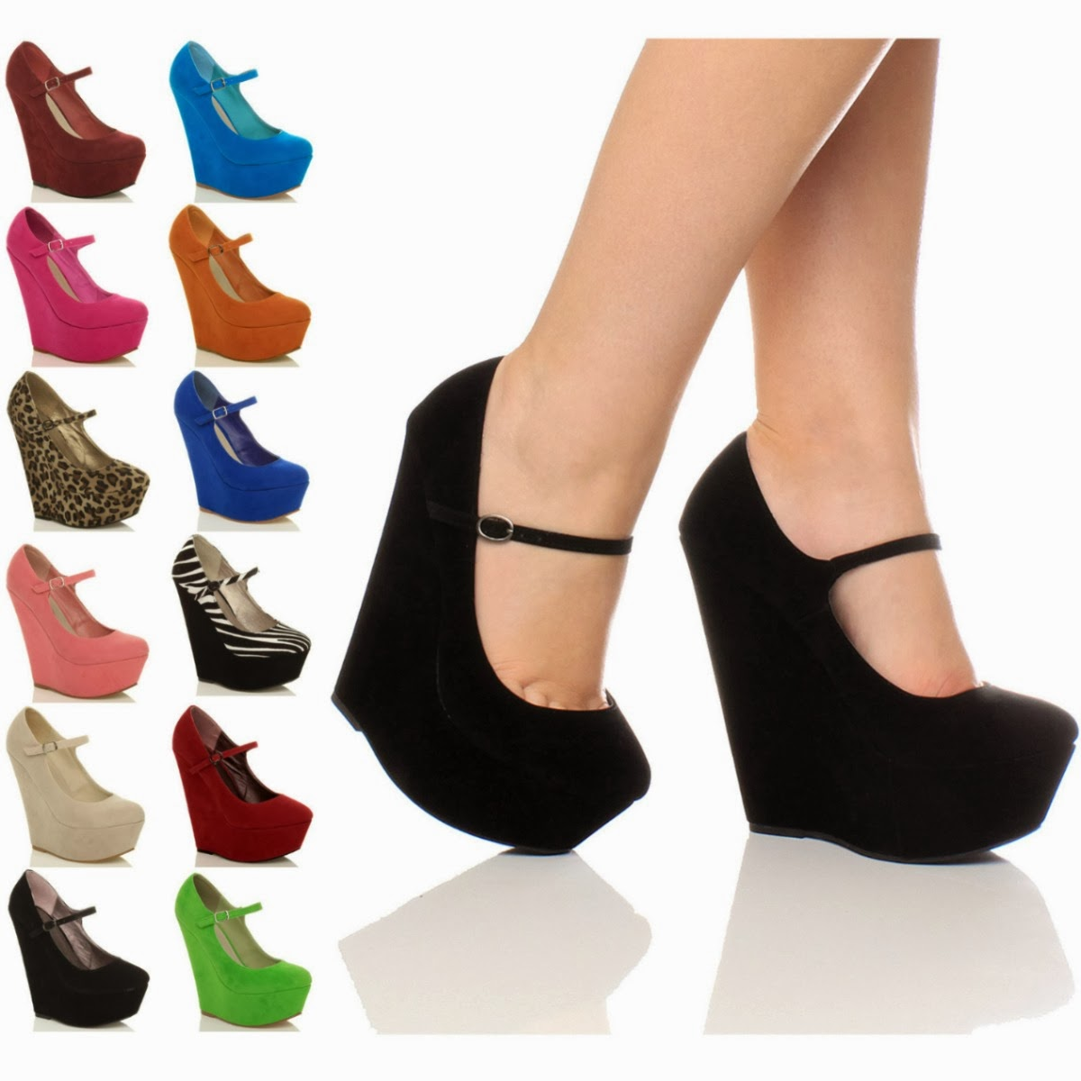 Morgana zapatos con plataforma muy c modos y muy elegantes for Sofas altos y comodos