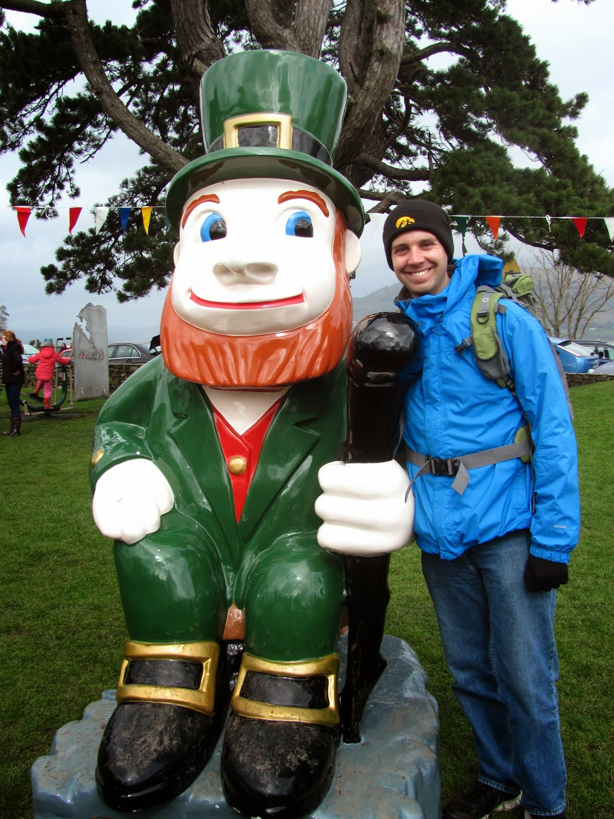 Cory and the Elder Leprechaun, Carlingford, Co. Louth, Ireland