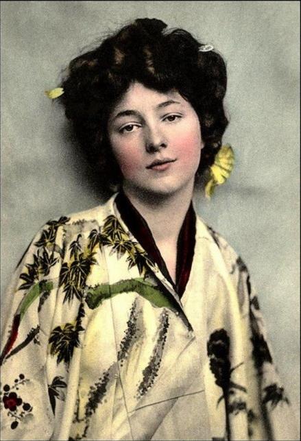 Evelyn Nesbit #kimono #vintage #1910s #fashion