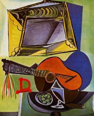 Natura morta amb guitarra (Pablo Picasso)
