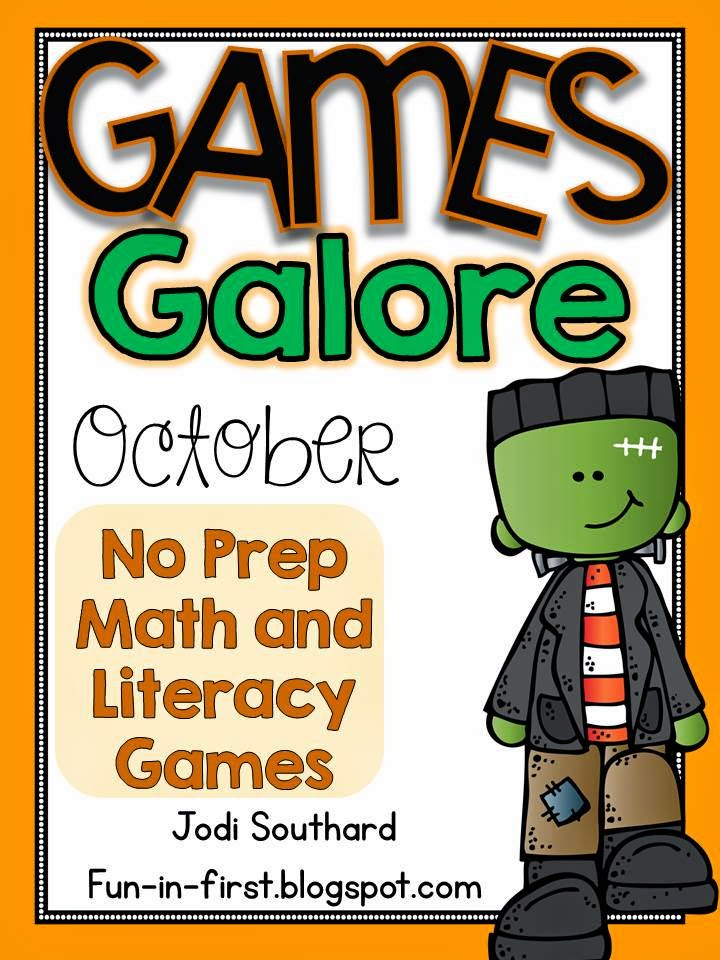 http://www.teacherspayteachers.com/Product/Games-Galore-No-Prep-Math-Literacy-Games-for-October-1453267