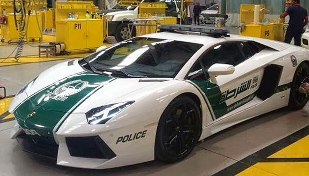 Di Dubai, Lamborghini Aventador Dijadikan Mobil Polisi