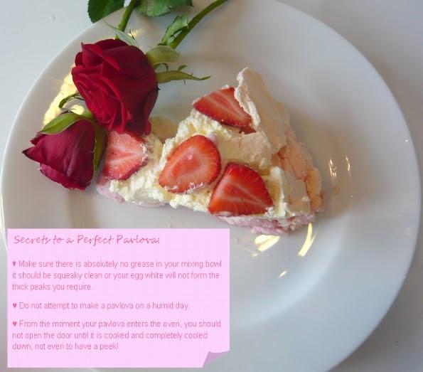 ... World of Inspiration: Valentines Pavlova - Fail Proof Recipe