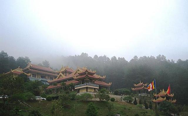 Cho thuê xe đi Tam Đảo- chùa Vân