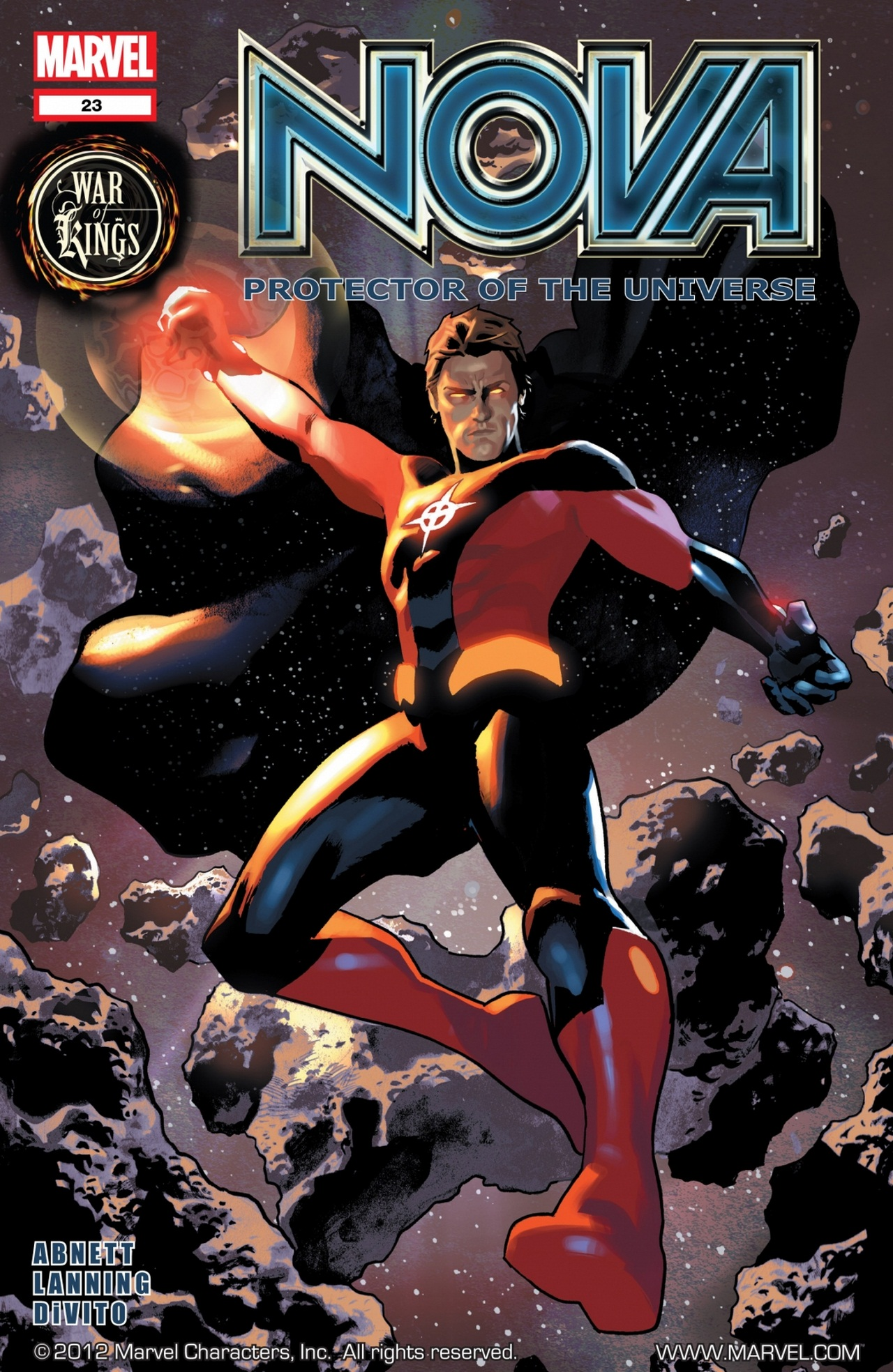 Nova (2007) issue 23 - Page 1