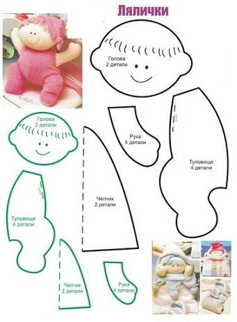 Куклы своими руками для начинающих выкройки