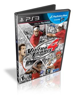 Download Virtua Tennis 4  PS3 Move 2011