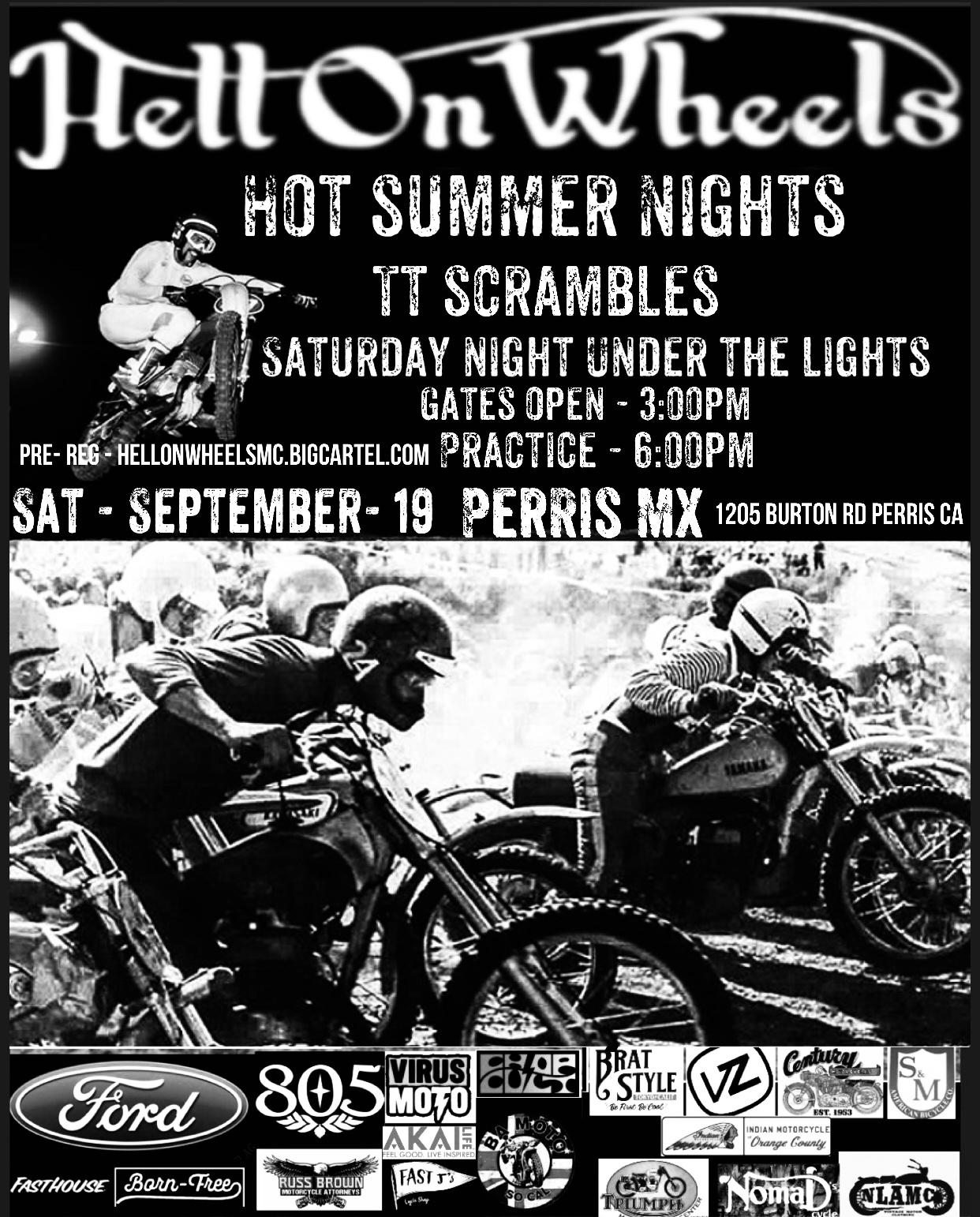 Hot Summer Nights TT Scrambles
