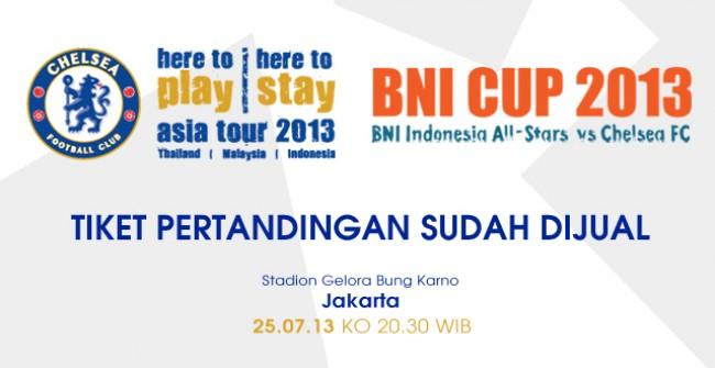 Jadwal dan Harga Tiket Chelsea vs Indonesia 2013