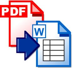 free pdf to word