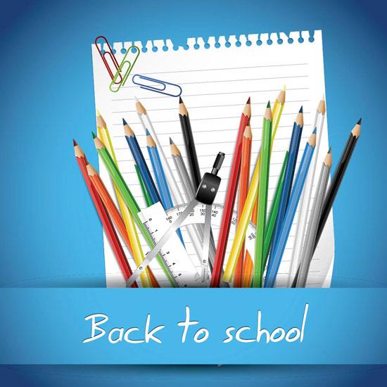 Lápices y material escolar