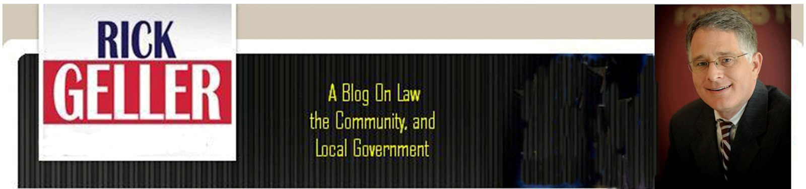 Rick Geller on Law and Local Government