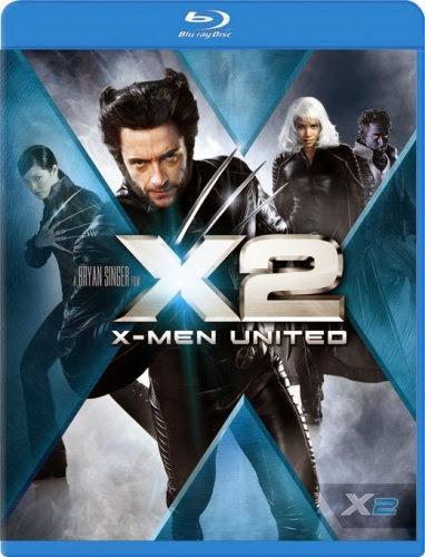 X Man 2 United 2003 Hindi Dubbed Dual Audio BRRip 350MB