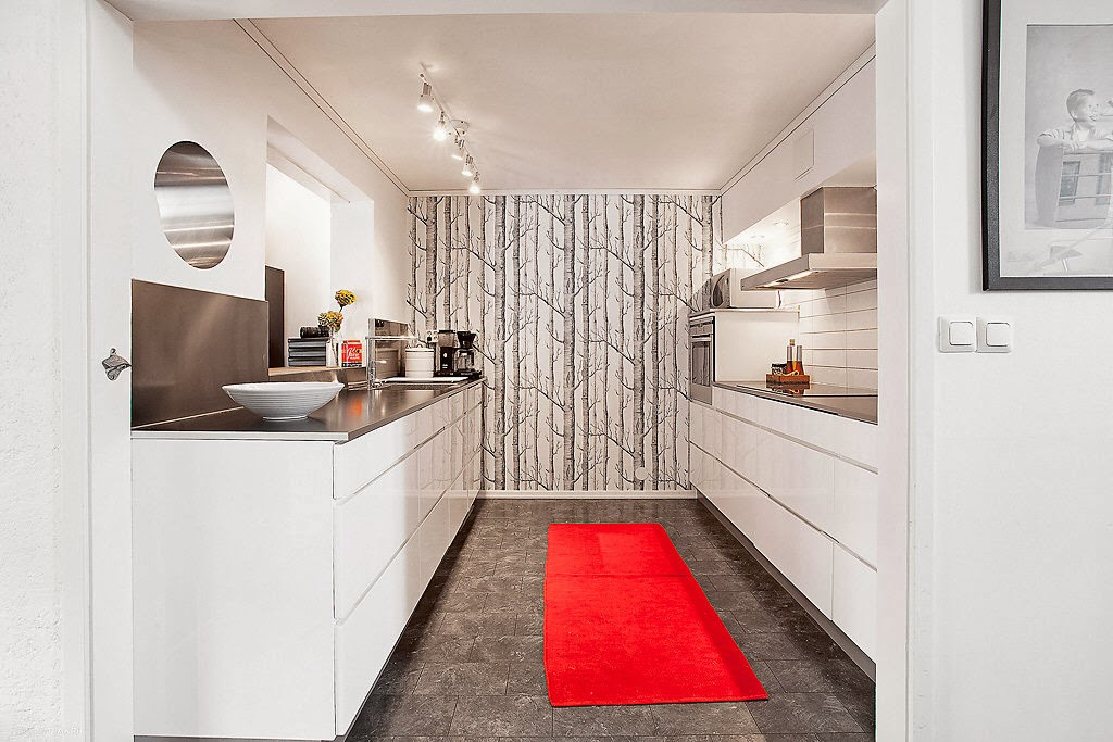 Kvik Kok Stockholm : Just detta koket or fron KVIK och bostaden ligger po Hosto