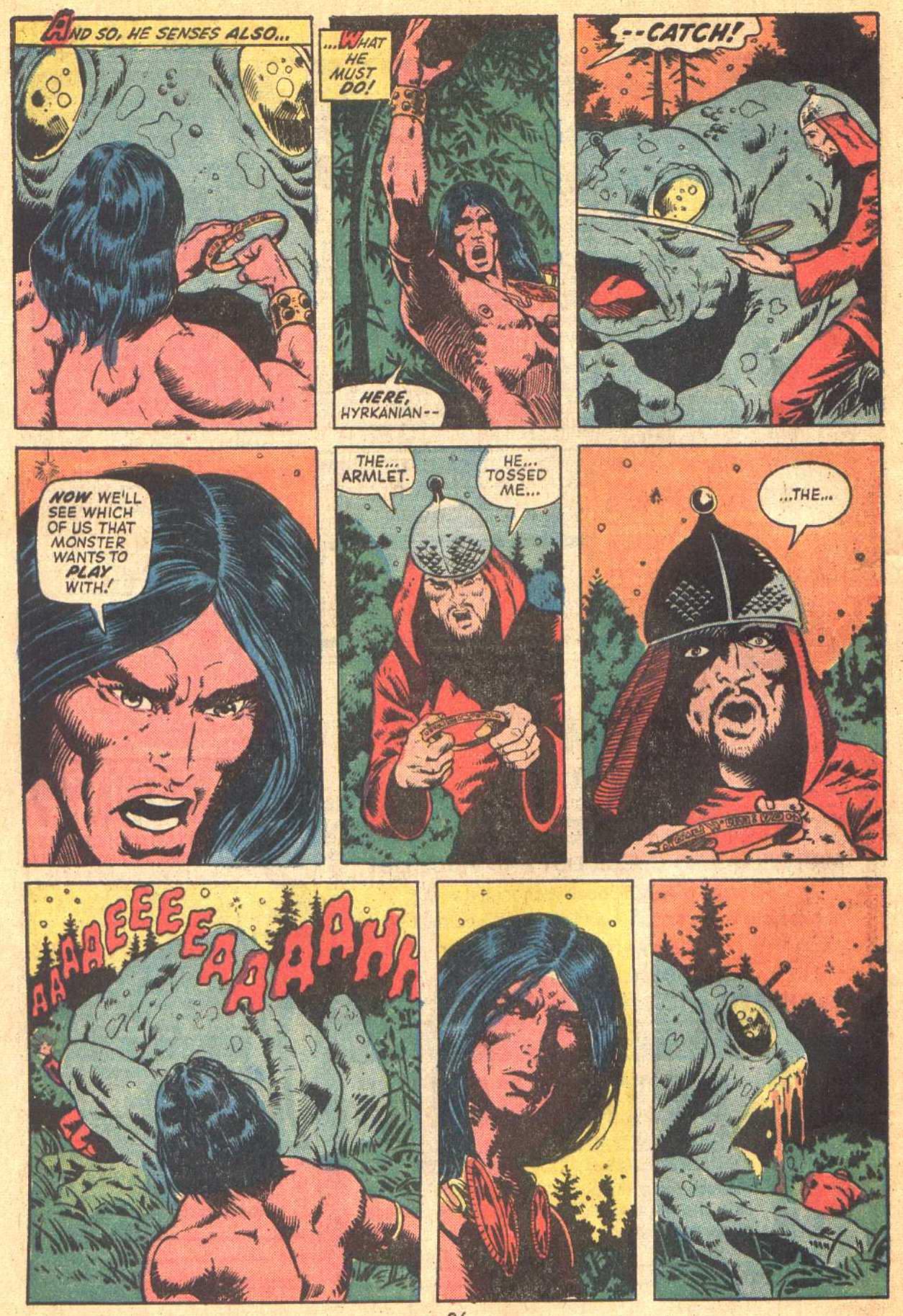 Conan the Barbarian (1970) Issue #21 #33 - English 19