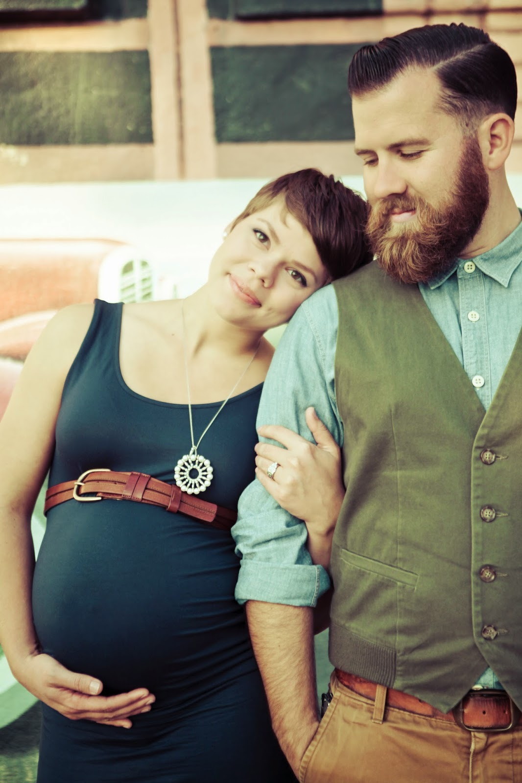 Latte Love San Diego Maternity Photos | Photographs by Anjuli
