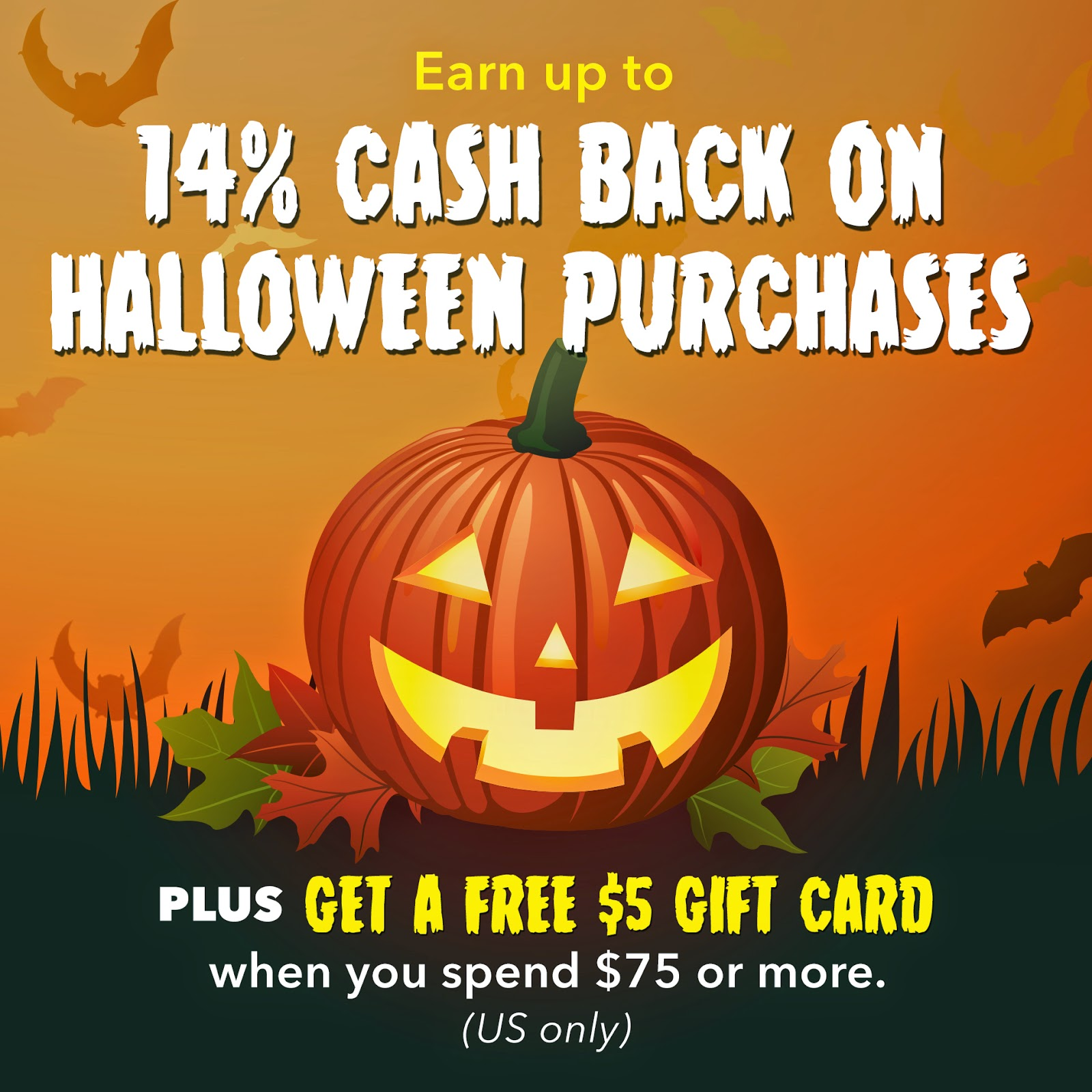 Swagbucks Halloween cash back