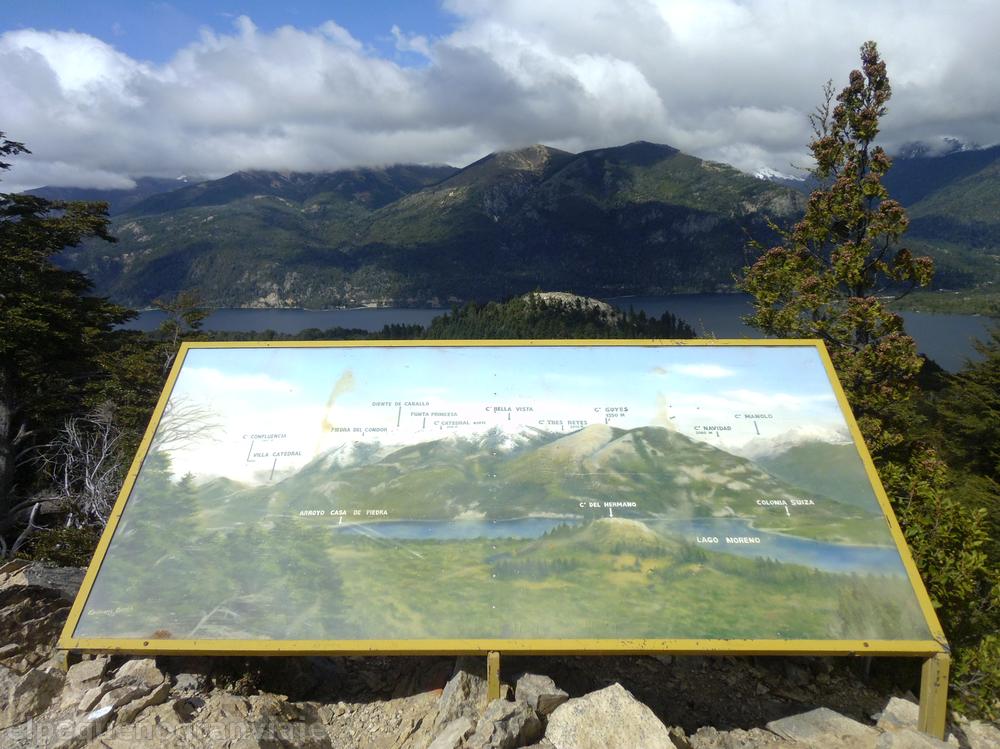 Bariloche, Cerro Campanario, Lago Moreno, mirador