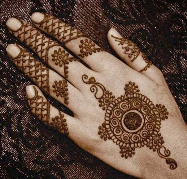 Mehndi For God : Mehndi design images patterns dress simple tattoo for