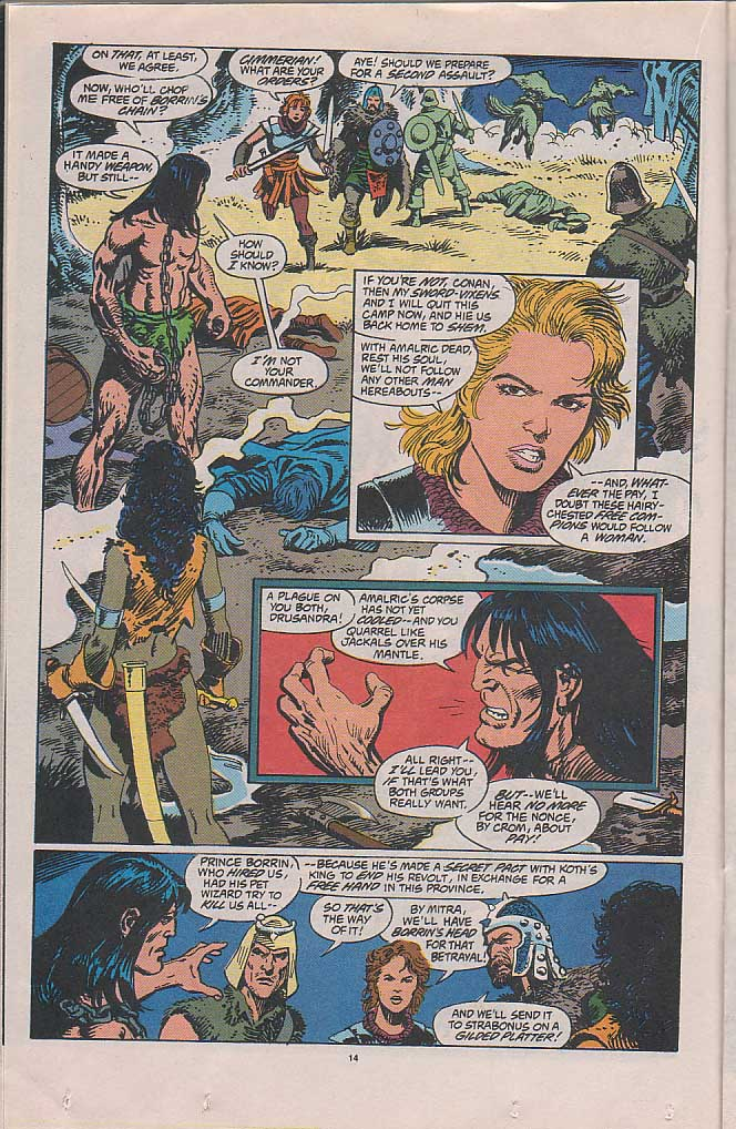 Conan the Barbarian (1970) Issue #268 #280 - English 11