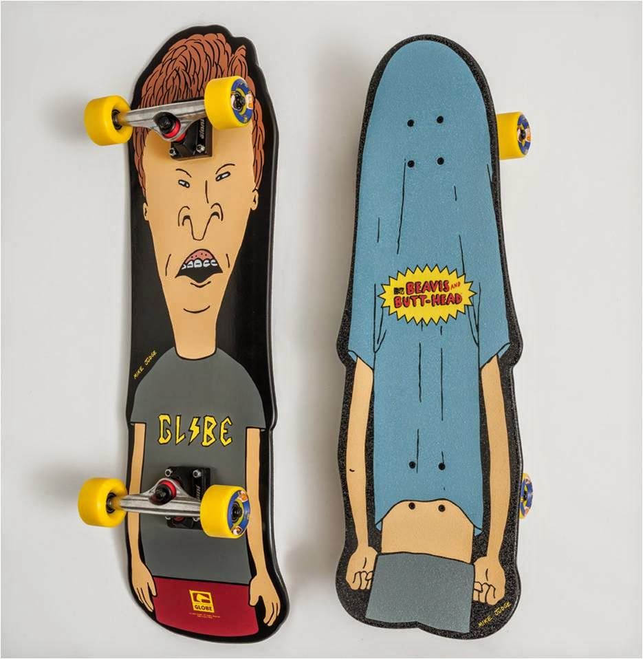 Globe x Beavis & Butt-Head Cruiseboards, Globe, Beavis & Butt-Head, Cruiseboards, available in malaysia, skaters collectible items, rip curl klcc, rip curl, rip curl malaysia, mike judge, rip curl fahrenheit88, rip curl sunway pyramid