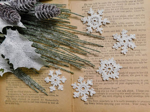 Hand Crocheted White Snowflakes - Price - $11.75