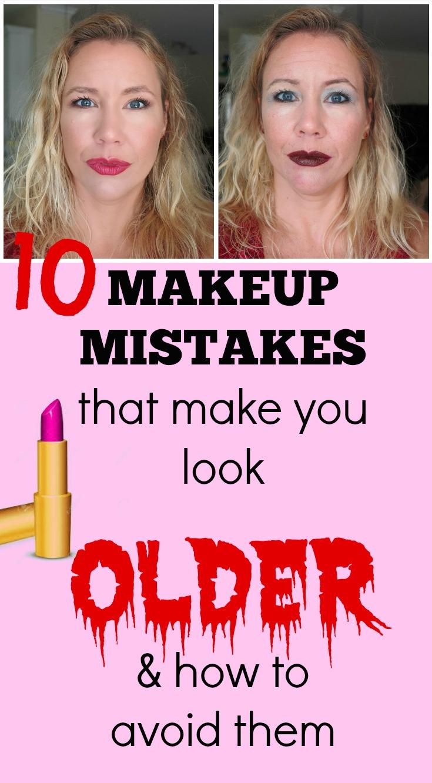 Makeup to make you look older