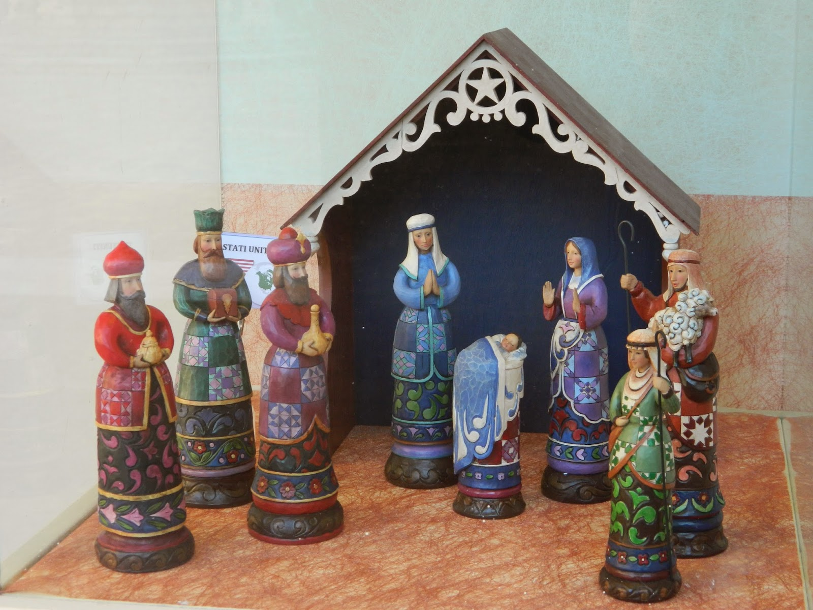 Nativity scene from the World Presepi dal Mondo