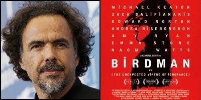 BIRDMAN written and directed by Alejandro González Iñárritu, nominated for Best Original Screenplay Academy Award