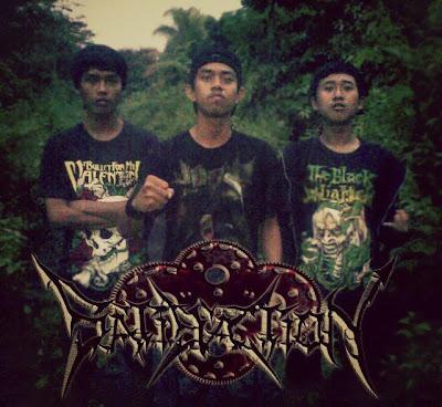 Satisfaction Band Death Metal Labuan Foto Personil Logo Wallpaper