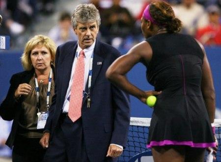 Serena Williams Angry
