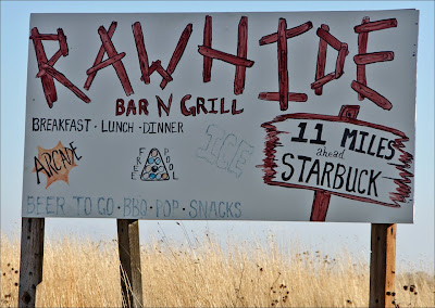 Rawhide Bar and Grill Starbuck, WA.