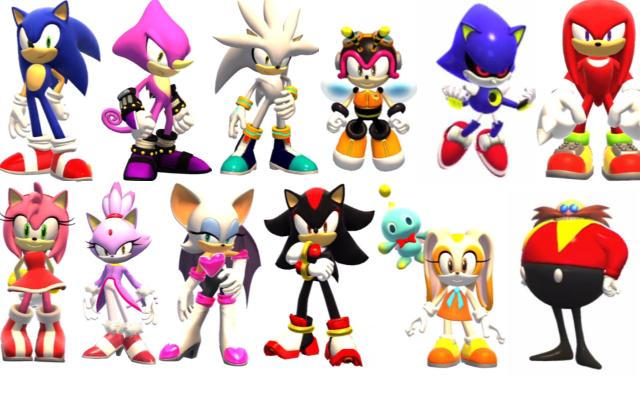 Todos los personajes de sonic - Imagui