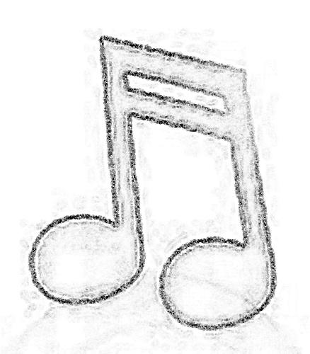 Cifras Desenhos ~ Blog da Tia Jaque Símbolos Musicais com Moldes