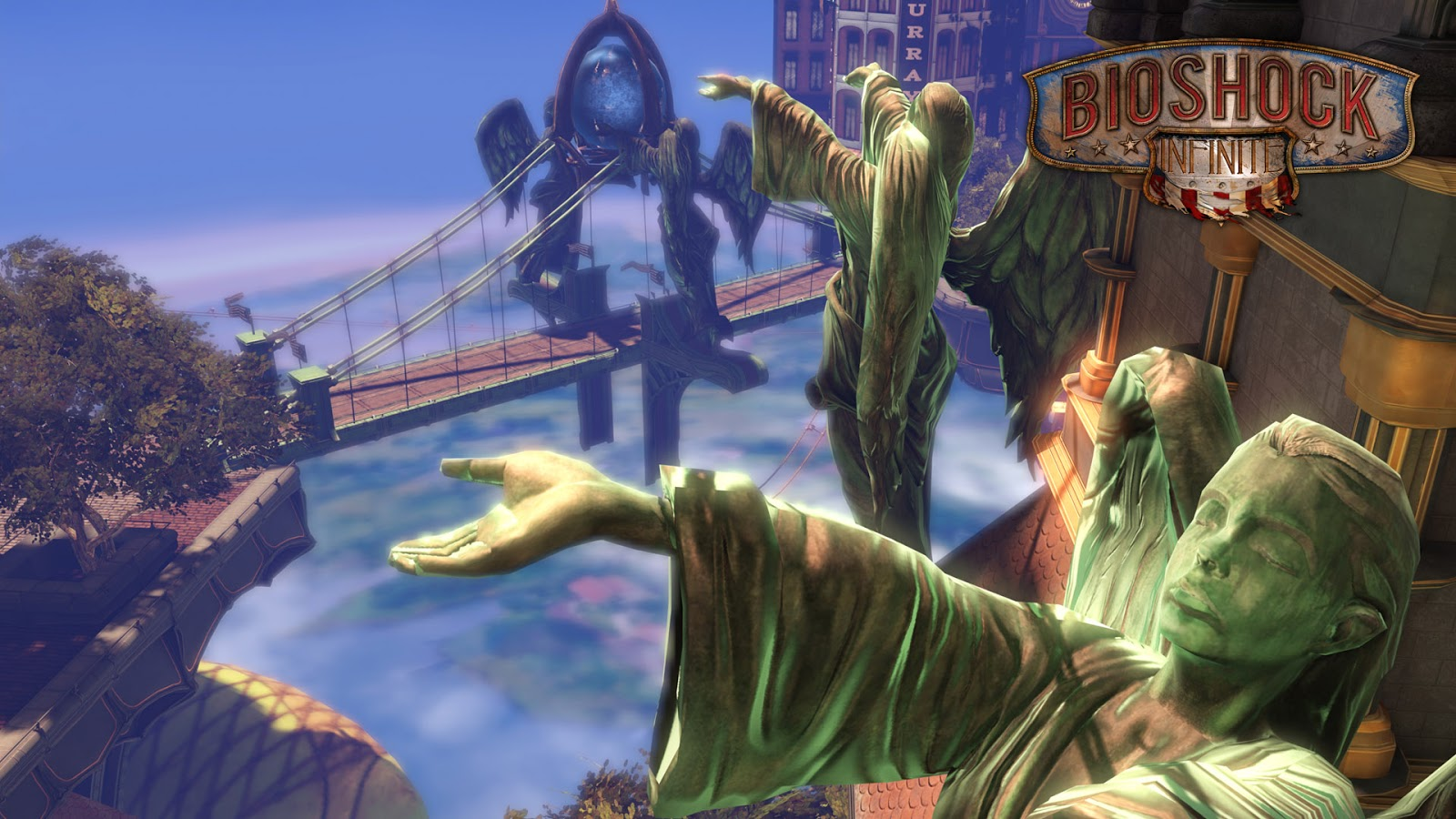 Bioshock Infinite HD & Widescreen Wallpaper 0.821922082265519