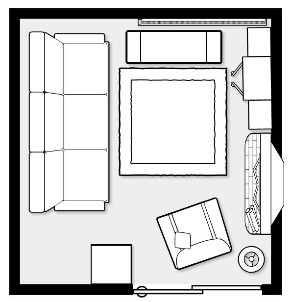 Icovia Room Planner Mighty Sparrow Design