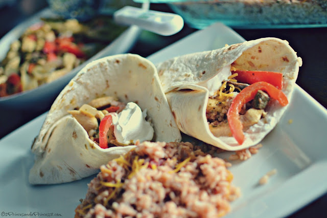 Chicken Fajitas #KraftRecipeMakers #Shop #Cbias