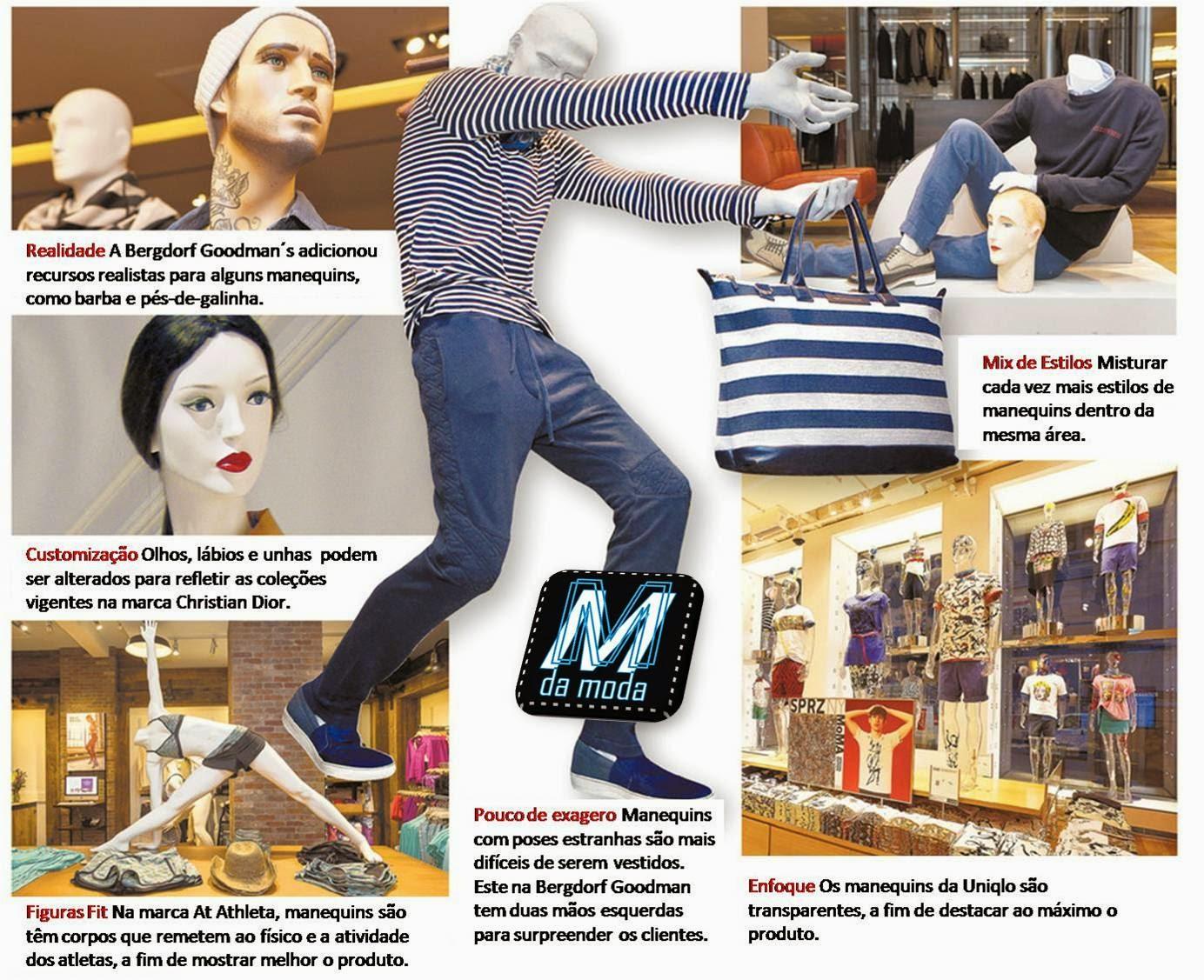 Confira as principais tendências de manequins: uso e design