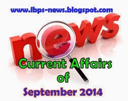 september 2014 current affairs