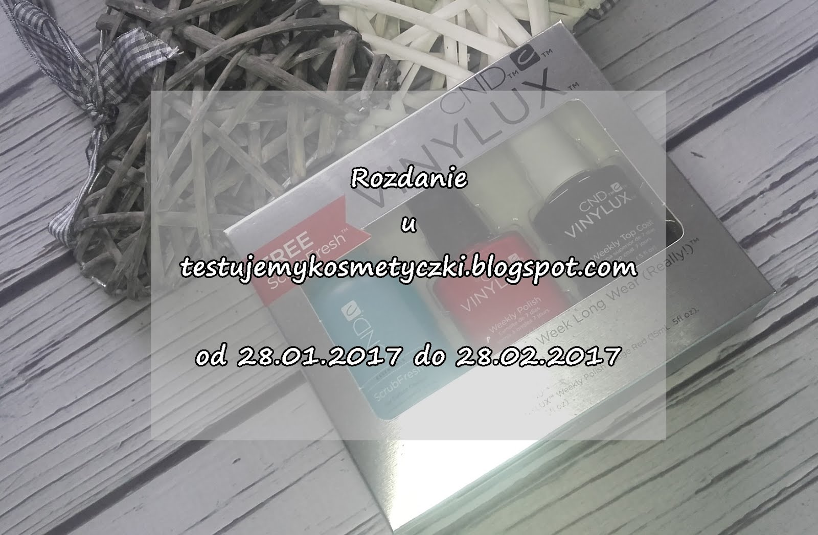 Rozdanie z lakierami vinylux