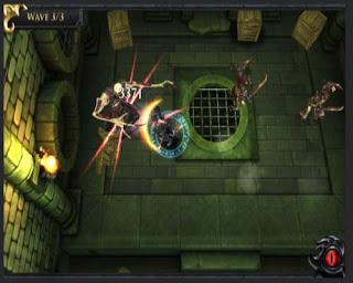 """Arena Battler """"D & D: Arena da Guerra"""": jogo para iphone ipod touch"""