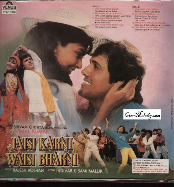 Jaisi Karni Waisi Bharni  1989