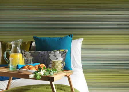 Amplitud con rayas horizontales decorar paredes - Paredes pintadas con rayas ...